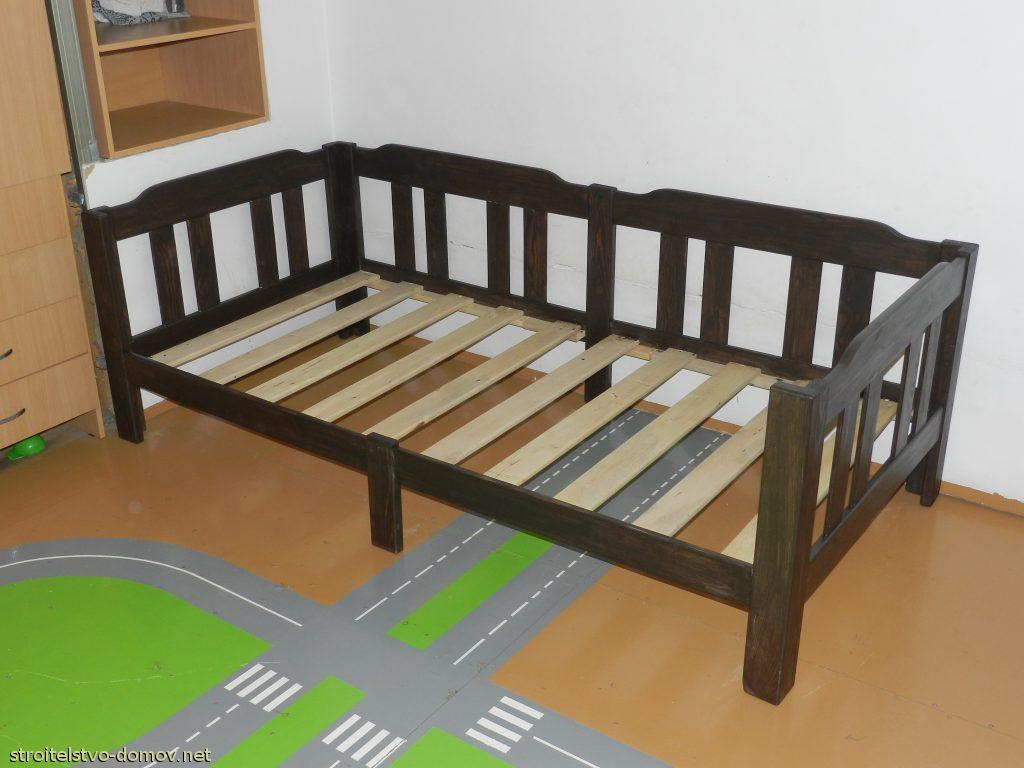 чертежи фото кроватка своими руками
