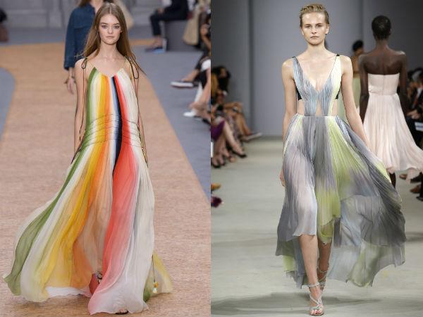 ac37e6796 سيكون الموضوع الرئيسي لموسم الربيع والصيف 2016 هو الهندسة ، أو بالأحرى  الخطوط. مرة أخرى في ملابس الموضة مع